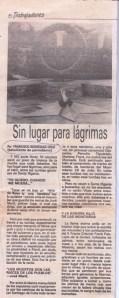 La crónica de la visita al Cementerio de Santa Ifigenia que publiqué en Trabajadores el 21 de noviembre de 1989.