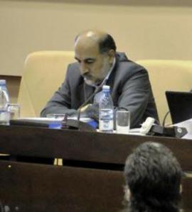 El vicepresidente de la Radio y la Televisión de Irán.
