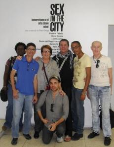 Integrantes de HxD visitamos la exposición como parte del activismo LGBT y H