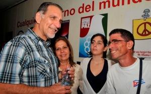 René también es un seguidor de los blogs de Cuba (Foto: Joaquín Hernández Mena)
