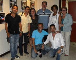 Con activistas de nuestro grupo HxD.