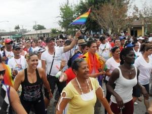 Con la participación por primera vez del Instituto Nacional de Deportes, Educación Física y Recreación (INDER) en Morón comenzaron las actividades de cultura física de esta VI Jornada Cubana contra la Homofobia.