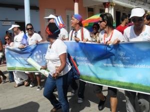 La Conga a lo largo de varias cuadras de la capital avileña exigió también destrezas casi deportivas.
