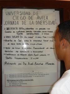 Bloquean este blog justo en la misma Universidad que el 17 de mayo del 2013 nos recibió a decenas de activistas de las redes sociales comunitarias del Cenesex durante la celebración de la VI Jornada Cubana contra la Homofobia.