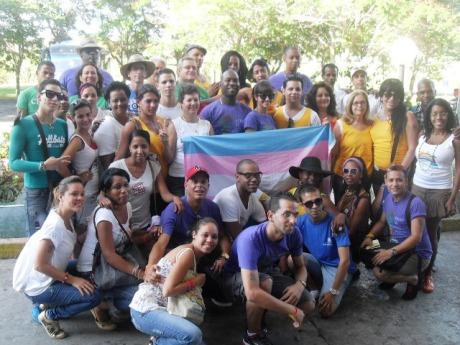 Representantes de las distintas redes sociales comunitarias del Cenesex en todo el país participaron en la Jornada en Granma