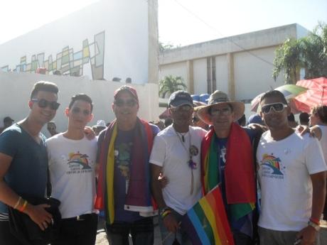 La delegación del grupo Humanidad por la Diversidad, de La Habana