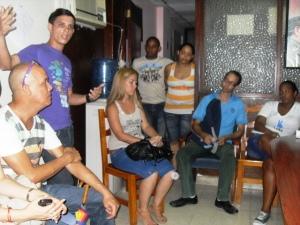 Carlitos coordinó el encuentro a solicitud de la secretaria del Comité Municipal de la UJC en Habana Vieja