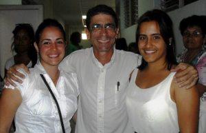 Con Giselle y Suamy