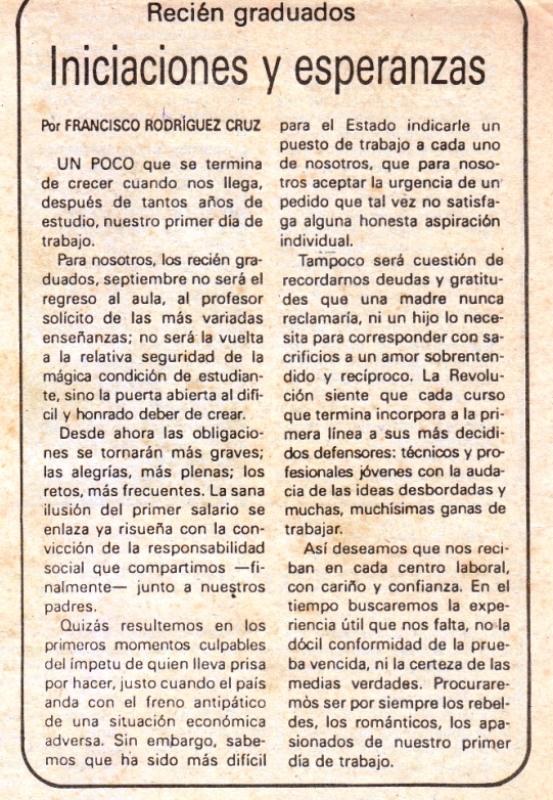 crónica 30 de agosto 1993