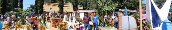Panorámica del Cementerio de Ocotepec.