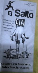 Publicación alternativa que compré en el Metro y responsabiliza a la CIA con la masacre en Guerrero