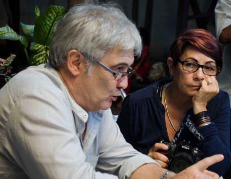 Los colegas y amigos Fernando Ravsberg y Raquel Pérez
