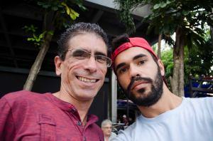 Claudio lanzó la idea juvenil de Una selfie con Paquito