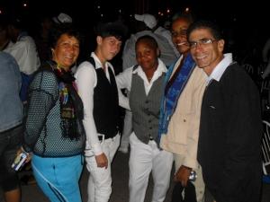 Pude compartir con amistades y activistas de Cienfuegos y Santa Clara