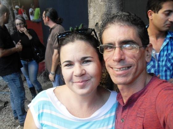 Con mi hermana Yimel