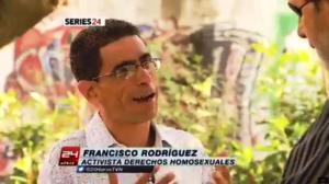 Ya en la madrugada pude descargar y ver el reportaje de la TVN de Chile y hasta hacer un print screen de la entrevista que me hicieron.