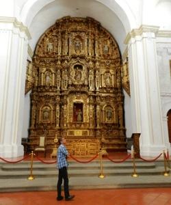 En México me extasié con catedrales, iglesias y conventos...