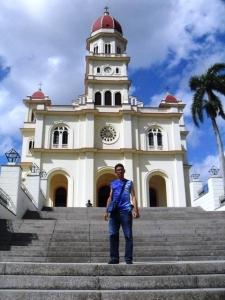Mi más reciente visita a la Iglesia del Cobre, hace dos años...