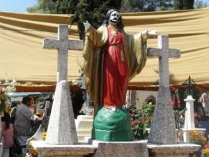 Sincretismo en el tradicional Día de Muertos...