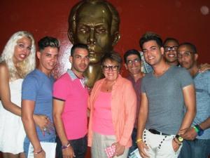 Representantes del grupo Humanidad por la Diversidad en Las Tunas