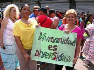 La nueva delegada y su pareja por 25 años participaron también en la Conga contra la Homofobia y la Transfobia por la céntrica avenida 23, del Vedado capitalino.