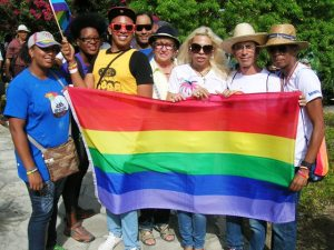 Actvistas lesbianas, trans y gays que fuimos a la VIII Jornada Cubana contra la Homofobia en Las Tunas