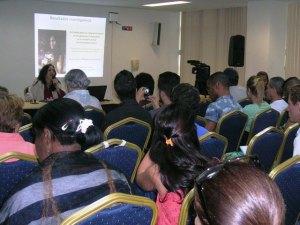Mariela Castro Espín, directora del Cenesex, abordó la transexualidad y los derechos humanos en su conferencia, y ofreció varias primicias durante el debate