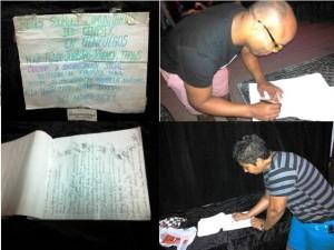 La recolecta de firmas entre la población cienfueguera estuvo entre las actividades que destacó la red Humanidad por la Diversidad en su resumen anual, expuesto en el III Taller de las Redes Sociales Comunitarias vinculadas al Cenesex, que tuvo lugar en Pinar del Río en la primera quincena de noviembre.