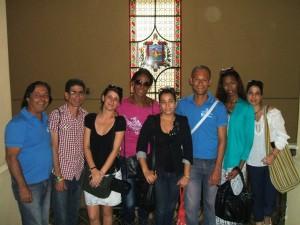Activistas de la línea HSH del Centro Provincial de Prevención de las ITS-VIH/sida y de la iglesia Somos ICM en Cuba, participan con propuestas y están pendientes del cumplimiento de los acuerdos por las instituciones que deben asegurar la organización de la Jornada.