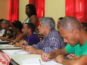 La dirección provincial de Cultura coordinó el trabajo organizativo