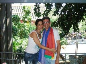 Elaine Salaregui, gran amiga y pastora de Somos Iglesia de la Comunidad Metropolitana en Cuba