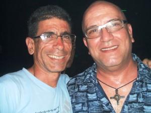 Con mi amigo de Miami, Ángel Rolando Ruiz.