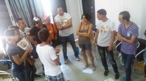 Activistas que formamos activistas, con técnicas participativas y sobre la base de conocimientos científicos sólidos
