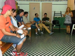 Wanda Hernández, coordinadora general del Centro Kairós, institución que surgió en 1994 para trabajar con la comunidad.