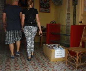 Nuestras donaciones para las personas damnificadas por el huracán Matthew irán junto con las que colecta el Centro Kairós entre sus feligreses y visitantes
